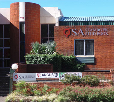 - The SA Stud Book Building in Westdene, Bloemfontein