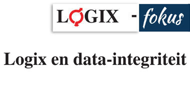 Logix en data-integriteit