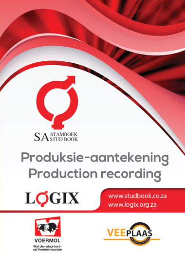 Production Recording Booklet - This booklet was published for the second time in 2015 and is a handy tool to facilitate the recording of data in the field. The book is particularly applicable for the recording of production data of small stock and beef cattle.